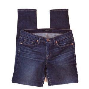 J Brand Indigo Skinny Leg League Jeans, used for sale